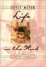 Life in the Word Devotional Christian Hardcover book  Joyce Meyer FREE SHIPPING
