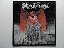 SEPULTURA    WOVEN  PATCH
