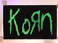 Korn Logo Blacklight Poster