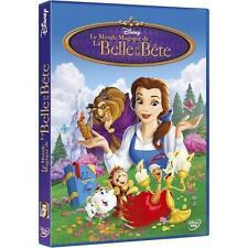 DVD *** LE MONDE MAGIQUE DE LA BELLE ET LA BETE *** W.Disney ( neuf emballé )