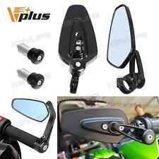 "7/8"" Universal Motorcycle CNC Aluminum Arrow 22 Bar End Side Rearview Mirrors"