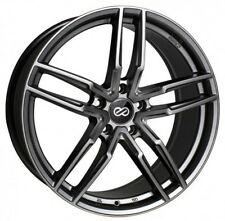 17x7.5 Enkei Rims SS05 5x114.3 +40 Hyper Gray Wheels (Set of 4)