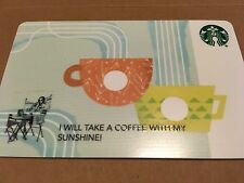 """Starbucks Gift Card Co-Branded """"CORE TWO CUPS BLUE"""" COLLECTABLE & No Cash Value"""