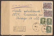 Aviation Used Polish Stamps