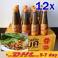 350ml x12 Pickled Fish Sauce Thai Esan Food Cuisine Seasoning Papaya Salad Somtu