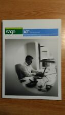 Sage ACT! professional book