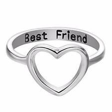 e5fe818719 Women Love Heart Best Friend Ring Promise Jewelry Friendship Rings Girl  Gift Hot