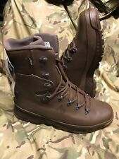 Brown Genuine Issue Cold Wet Weather Haix Goretex Boots!New with tags!Size 15 W!