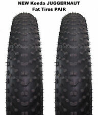 "2 PAK Kenda Juggernaut Sport DTC 26""x 4.0"" K1151 Fat Bike Tire Wire Bead MTB"