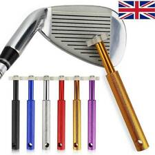 6  Golf Iron Wedge Club Face Groove Tools Sharpener Cleaner Cleaning Tool f