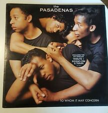 the Pasadenas To Whom it May Concern Pre-Owned Vinyl