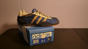 Vintage Adidas SL72, Early Model (VG, IOB, Made in West Germany, 1970's)