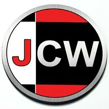 JCW - John Cooper Works - MINI Cooper Magnet Grill Grille Badge