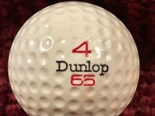 "Near-Mint 'England' Dunlop ""65� #4 Golf Ball; Ships To Continental U.S.A. Only"