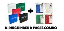 More details for blackfire / ultra pro collectors ring album/binder/folder & a4 9 pocket pages