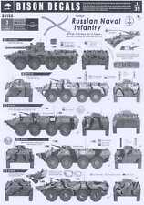 Bison Decals 1/35 TODAY'S RUSSIAN NAVAL INFANTRY ARMORED VEHICLES