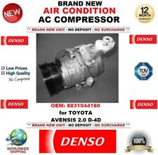 DENSO AIR CONDITIONING AC COMPRESSOR OEM: 8831044180 for TOYOTA AVENSIS 2.0 D-4D