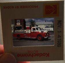 Foto Dia-Positiv Feuerwehr 1954 Intl./Bean HPF S-20, Shelby, N.Y., USA