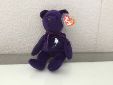 Rare Ty Princess Diana Beanie Baby, made in Indonesia - PVC pellets - No Space