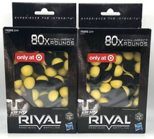Nerf Rival 80 Count High Impact Rounds 2x (160 Rounds Total)