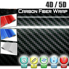 4D/5D Waterproof Carbon Fiber Vinyl Car Wrap Sheet Roll Film Sticker Decal Paper