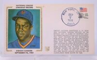 Dwight Gooden 1984 Strikeout Record Cachet Stamped Envelope New York Mets