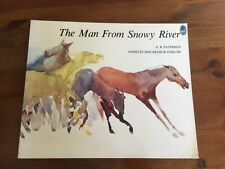 The Man from Snowy River by A.B. (BANJO) Paterson - Picture book - 1991  - VGC