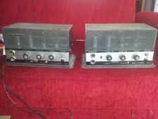 2x Geloso 1020A tube Ampli + 1 for spare parts