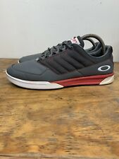 Oakley Sector Course Cruisers Golf Sneakers Men's Size 10 Gray Red White
