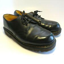 Authentic Vintage Dr Marten's Women's Shoes Size Us M 7 W 8 Uk 6 Black Leather