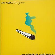 "NEW 7"" Jah Cure, Damian Marley - Marijuana  /  Marijuana Instrumental"
