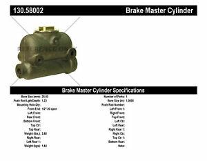 Brake Master Cylinder-Premium Master Cylinder - Preferred Centric 130.58002