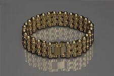 ARAGON JX140GLD Charger 22mm Bracelet