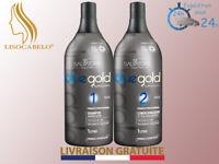 Lissage Sans Formol o Tanin 2x1000ml (Taninoplastie) SALVATORE Blue Gold Premium