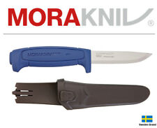 Morakniv Fixed Blade Knife Basic 546 Blue Stainless Steel With Sheath 01504