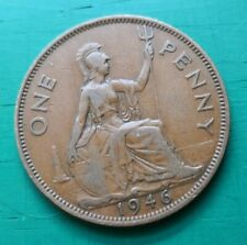 More details for 1946 penny dot variety flaw george vi #622