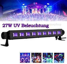 UV LED Bar 27W LED Schwarzlicht Bühnenlicht Blacklight Deko Effekt Party Licht