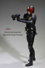 1/6 Heavy Armoured Special Cop JUDGE ANDERSON AF020 12'' Female Figure Model Toy