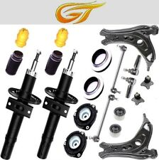 2 Gas Shock Absorber Front + Strut Mount, Control Arm, Drop Links - Polo 9n/