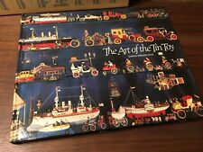 Book: The Art of the Tin Toy by David Pressland (1976 first edition) HC w/ DJ