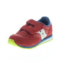Scarpe scarpe da ginnastici rossi marca Saucony per bambini dai 2 ai 16 anni