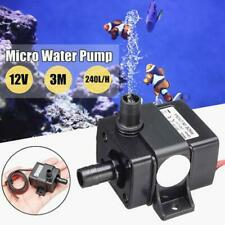 12V 3m 240L/H Ultra Quiet Brushless Motor Submersible Pool Water Pump Solar/T0B2