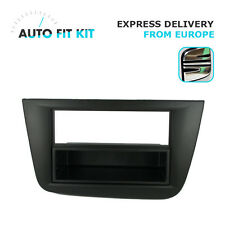 Seat Altea 2004- 1 Din Single DIN Radio Facplate Fascia Frame Panel Dash