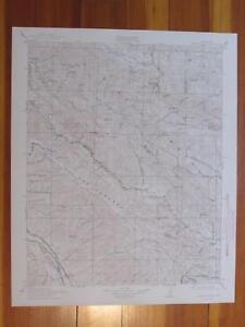 Priest Valley California 1943 Original Vintage USGS Topo Map