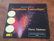 Berlioz  Symphonie fantastique MONTEUX Swiss CONCERT HALL TURICAPHON LP SMS-2357