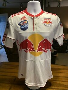 New York Red Bull adidas INAUGURAL SEASON 2010 SOCCER JERSEY NYRB, MLS Size S