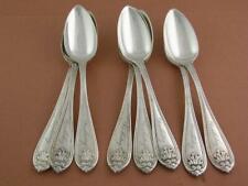8 Coin Silver Gorham Teaspoons Josephine 1855 Platt & Bro. Ny ~ Doubleday
