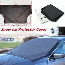 Car Truck SUV Front Windshield Window Snow Ice Frost & Sun Shade Protector Tarp