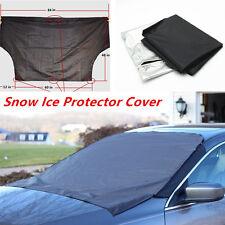 Car Truck SUV Front Windshield Window Snow Ice Frost & Sun Shade Protector Tarp