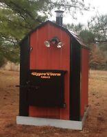 BEST SMALL Mini Outdoor Wood Burner Boiler Furnace Outside 2300 sq ft